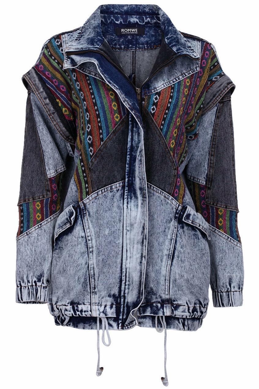 Oversized Denim Coat, The Latest Street Fashion
