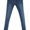 Romwe | zippered slim blue denim pants, the latest street fashion