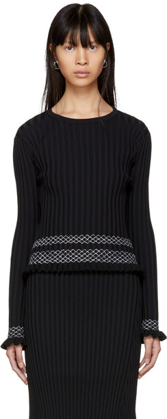 Altuzarra sweater crewneck sweater black
