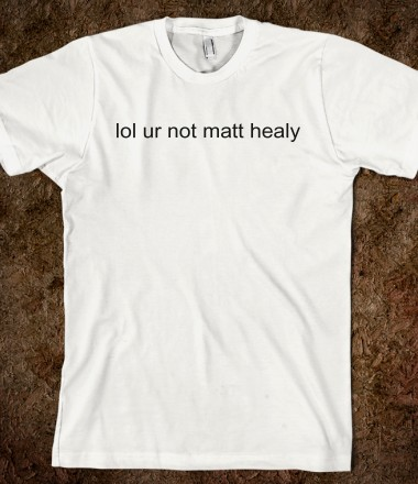 lol ur not matt healy - UNFZIAM - Skreened T-shirts, Organic Shirts, Hoodies, Kids Tees, Baby One-Pieces and Tote Bags Custom T-Shirts, Organic Shirts, Hoodies, Novelty Gifts, Kids Apparel, Baby One-Pieces | Skreened - Ethical Custom Apparel