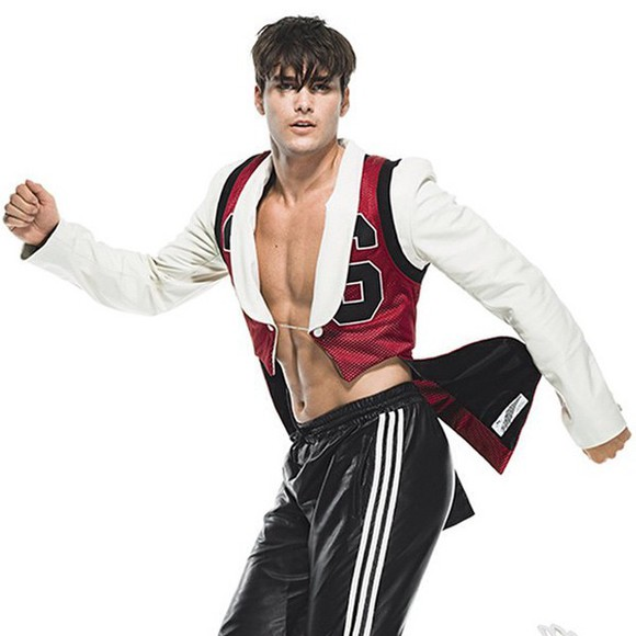 adidas jacket jeremy scott tux tuxedo menswear