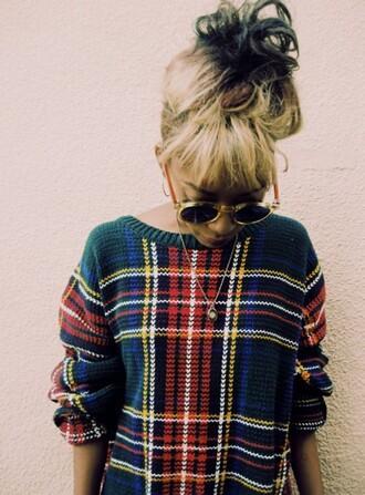 sweater oversized sweater patterned sweater