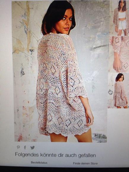 urban outfitters jacket knitwear