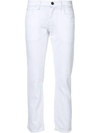 jeans boyfriend jeans cropped boyfriend white