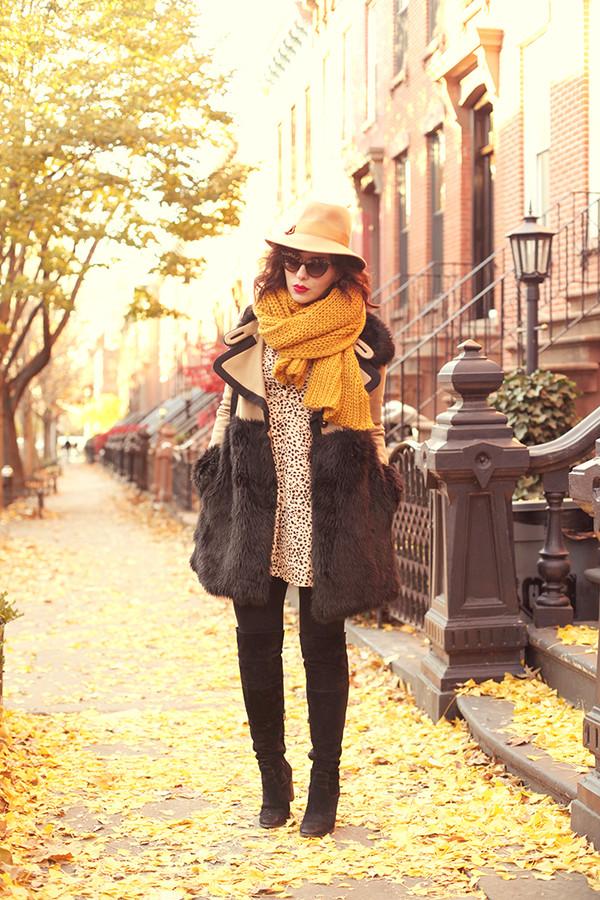 keiko lynn coat hat scarf dress shoes sunglasses