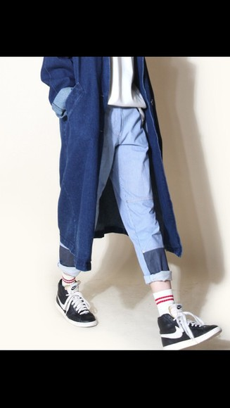shop fashion jacket coat denim long denim dark england amazon help me!! i dont know where i can but vip tickets#help #justinbieber #tickets #belieber #sos #ticket amazonite