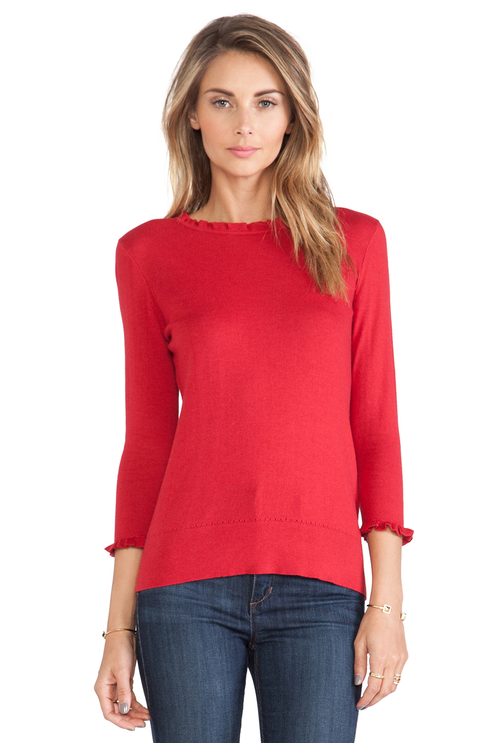 Kate spade new york bekki sweater in dynasty red from revolveclothing.com
