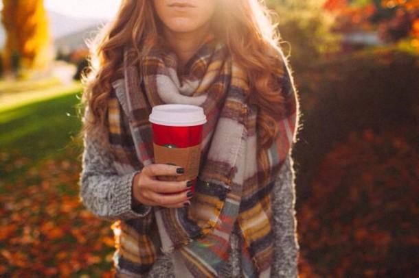 Výsledek obrázku pro tumblr cozy scarves