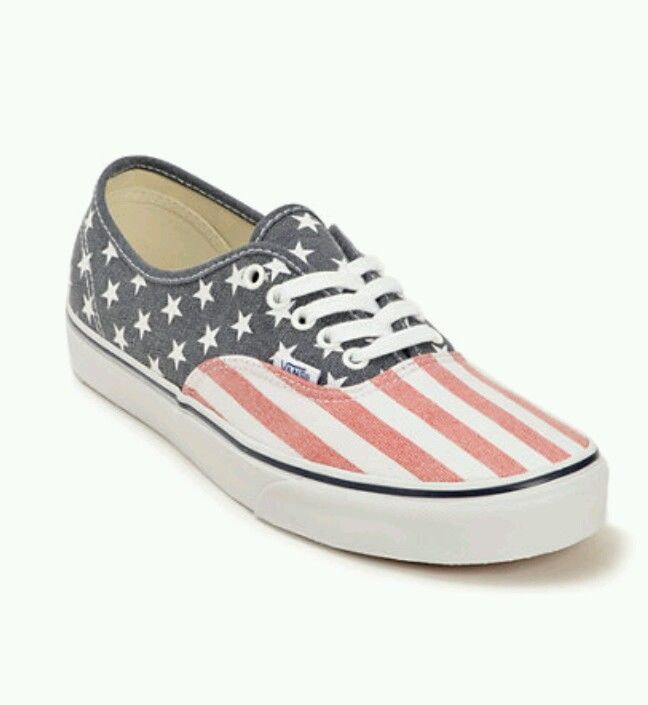 Stars and stripes vans doren vans authentic usa mens size 10 new in box.