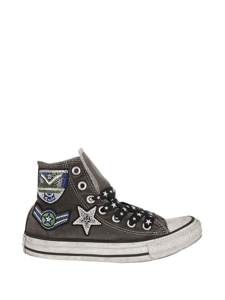 converse patchwork sneakers shoes