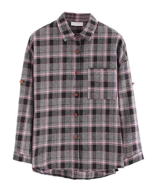 shirt flannel shirt vintage