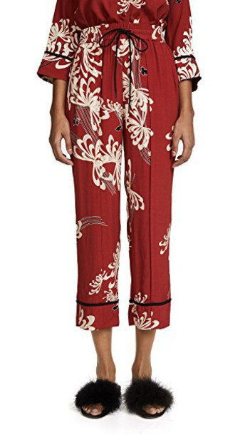McQ - Alexander McQueen pants track pants red