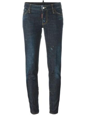 jeans fit blue