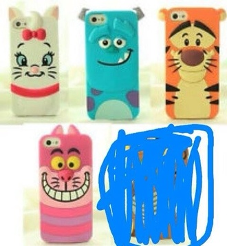 disney iphone 5 case phone case monsters inc tiger