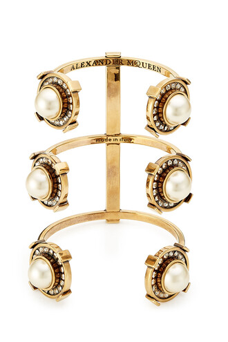 cuff embellished cuff bracelet gold jewels