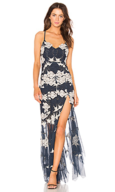 X by NBD x REVOLVE Kenny Gown in Midnight Blue from Revolve.com