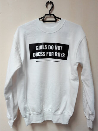 sweater sweatshirt tumblr outfit white sweater black sweatshirt funny sweater funny women outfit women style girl gift ideas drees women drees girls do not drees for boys drees for boys clothes girls clothes