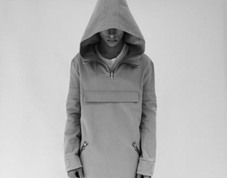 sweater hoodie hoodie jacket zipped coat grey sweater grey t-shirt grey coat style menswear mens jacket
