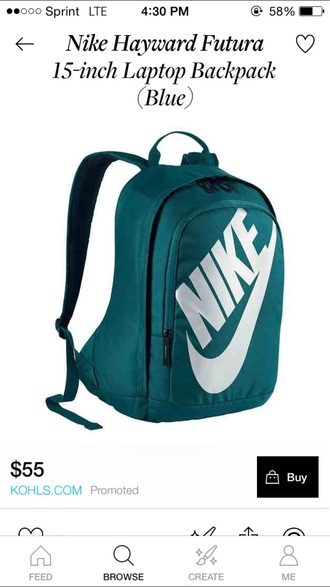 bag backpack nike