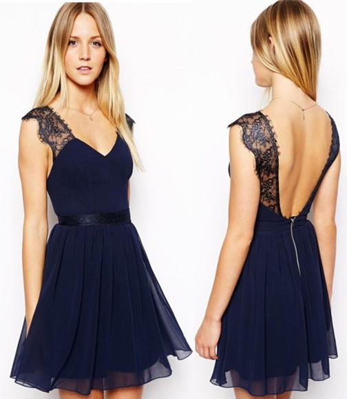 sexy dress halter dress sexy halter dress blue dress blue