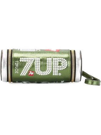 clutch green bag