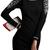 ROMWE | ROMWE Beads Embelished Slim Knitted Dress, The Latest Street Fashion