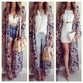 jacket,undefined,maxi,floral kimono,kimono,floral,fashion,instagram,shoes,cardigan,top,blouse,jeans,swimwear,bag