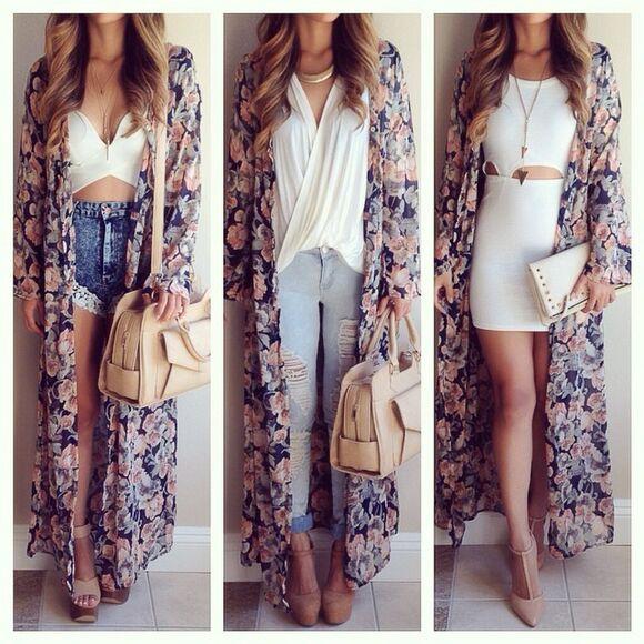 fashion maxi jacket undefined kimono floral sheer kimono, floral kimono, floral instagram shoes