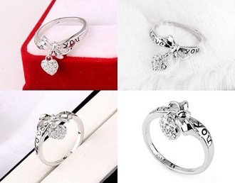 jewels ring silverring silver ring diamonds