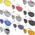 Aviator Sunglasses Fashion 80s Retro Style Designer Shades UV400 Lens Unisex   eBay