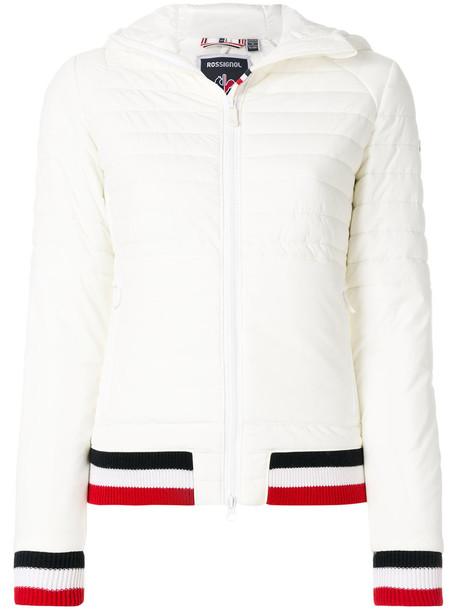 jacket puffer jacket women spandex white