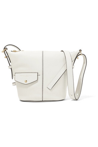 mini bag shoulder bag leather white