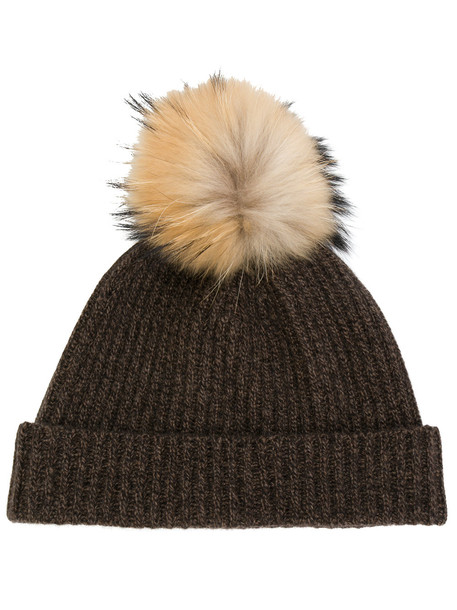 hat beanie brown