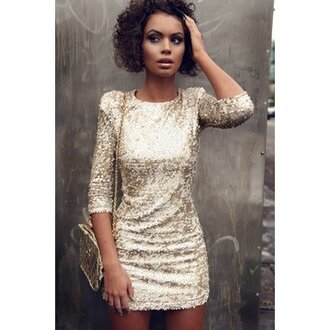 dress women diamond girl women dress diamonds black power beautiful party dress party party make up bandage dress gold gold sequins perfecto perfect combination bag sweet 16 dress