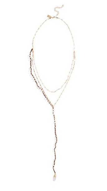Native Gem necklace pearl jewels