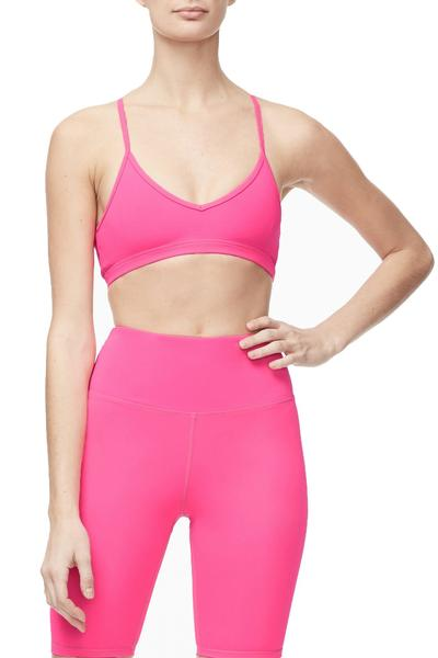 THE BARELY THERE BRALETTE | NEON PINK001