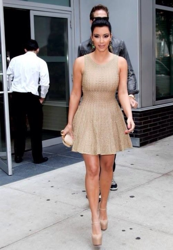 as seen on kim kardashian azzedine alaia nude sahara dress