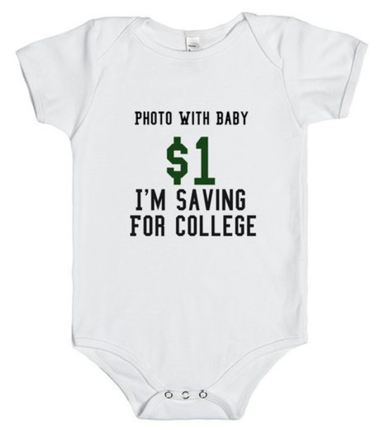 T-shirt: infant, onesie, shirt, photography, baby, college ...