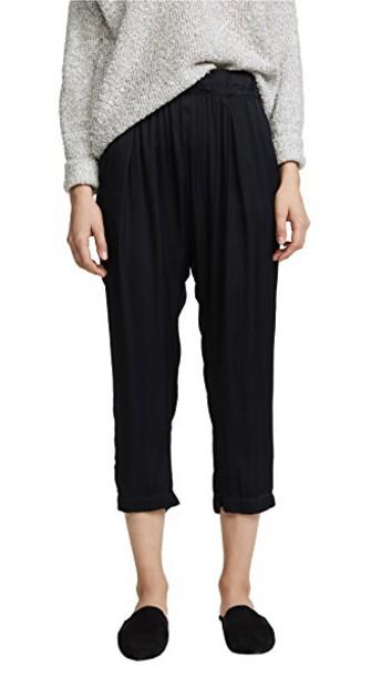 enza costa pants long black