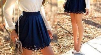 skirt black skirt elegant high waisted skirt beautiful girly girl outfit blouse