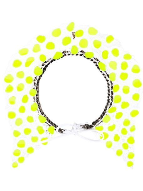Annelise Michelson necklace yellow orange jewels