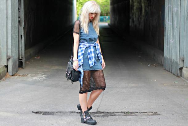 saraluxe dress skirt bag