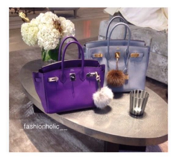 purple bag blue bag bag purple hermes hermes bag