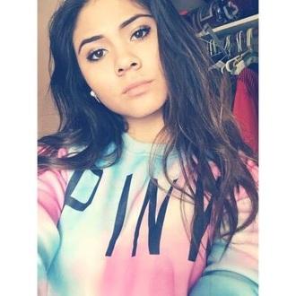 sweater pink victoria's secret victoria secret sweater