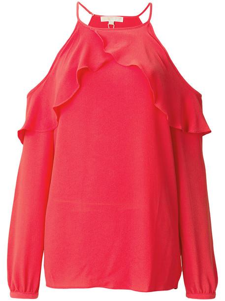 top women spandex cold cotton yellow orange