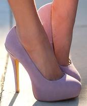 shoes,lavender,lavender heels,lilac/lavender