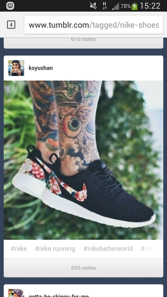 shoes black shoes nike running shoes tumbler flowers shoes nike air