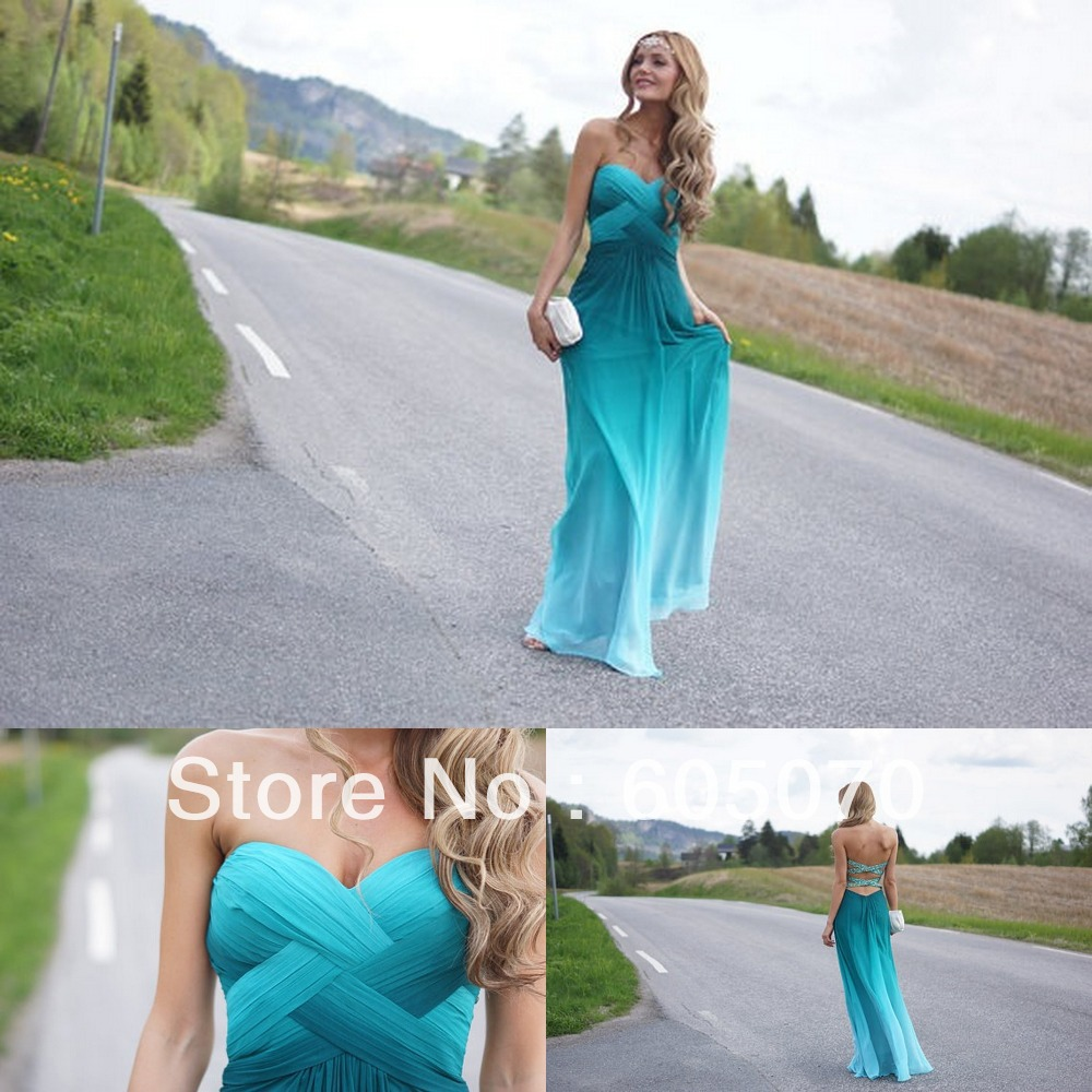 Sexy Sweetheart A Line Floor Length Chiffon Prom Dresses On Sale-in Prom Dresses from Apparel & Accessories on Aliexpress.com