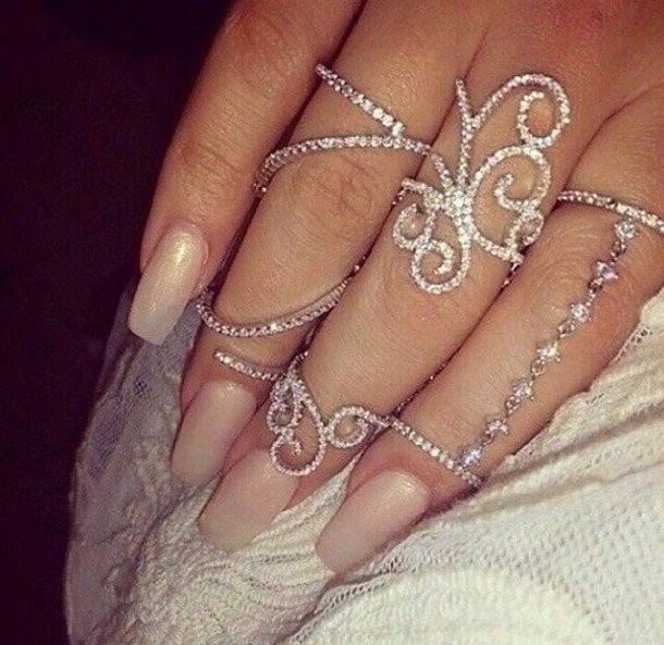 jewels ring silver ring silver fashion style