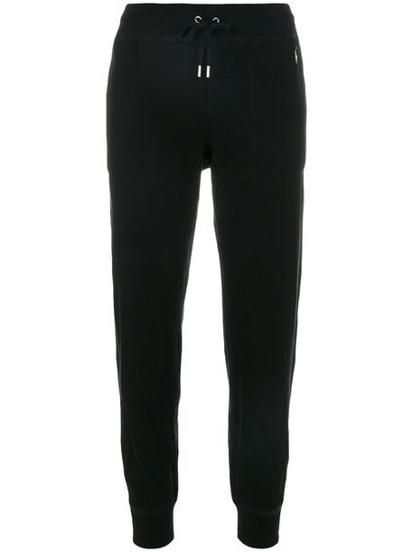 Polo Ralph Lauren pants track pants women drawstring cotton black